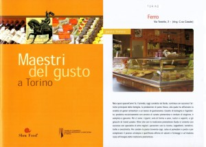 Maestri del gusto a Torino