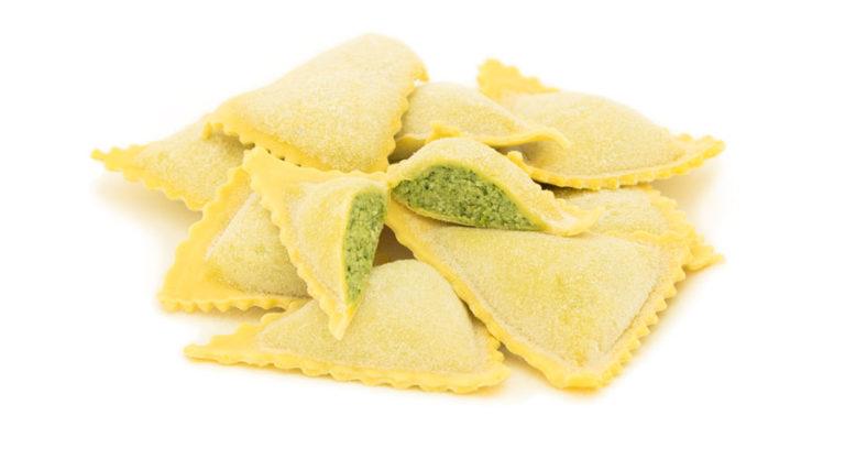 Ravioli di Magro pasta fresca tradizionale torino