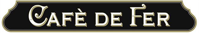 Cafè de Fer Caffetteria Pastificio Ferro Logo
