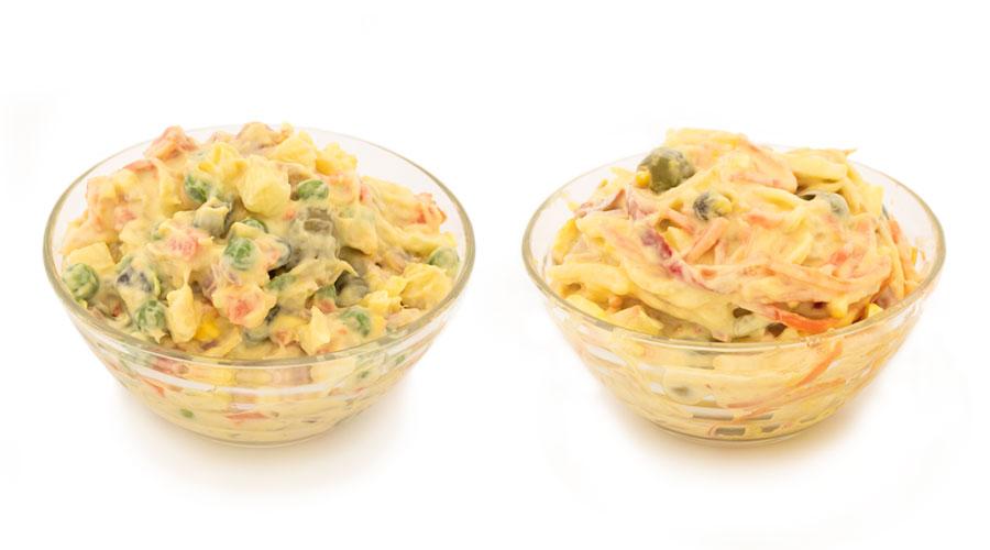 insalata russa capricciosa gastronomia pastificio ferro torino ingredienti qualità piemonte